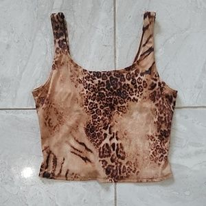 Tops - Sexy Leopard Top